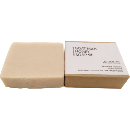 Goat Milk Honey Soap (Approx. 100g)