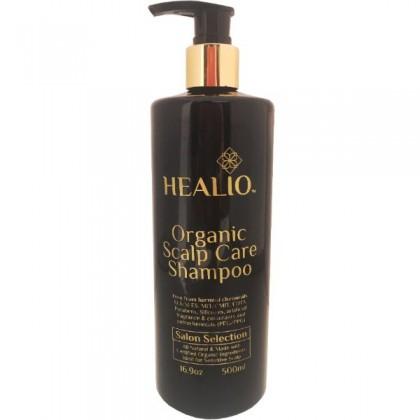 Healio Organic Scalp Care Shampoo (Ideal for sensitive scalp) 16.9oz/500ml