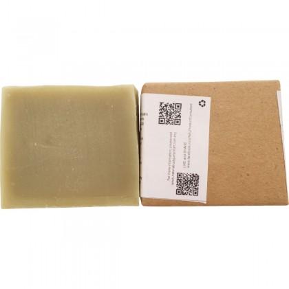 Soy Milk Pandan Soap (Approx. 100g)