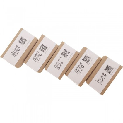 NBJ Mini Travel Soap (Assorted) (approx. 25g x 5 bars)